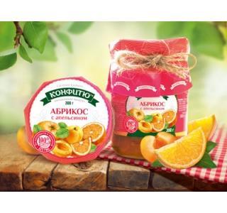 Варенье из абрикоса с апельсином 300г Царство ароматов купить