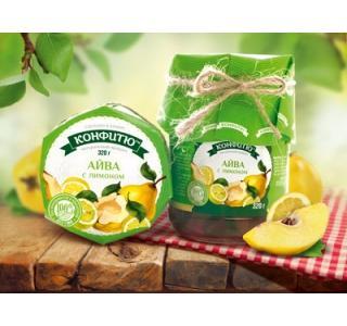 Варенье из айвы с лимоном 320г Царство ароматов купить