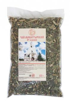 Чай Монастырский от курения целлофан 100гр Травы горного крыма купить