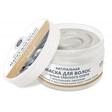 Натуральная маска для волос с грязью Сакского озера С протеинами пшеницы Дом природы купить