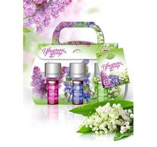 Сувенирный набор ароматизаторов Цветочный Бисер Царство ароматов купить
