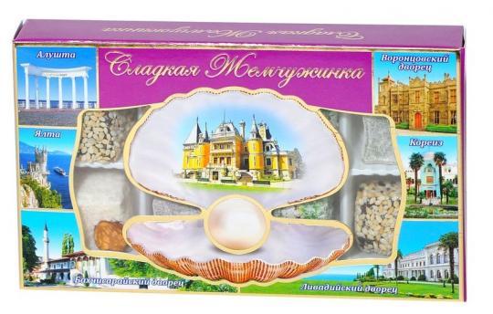 Крымские сладости  сладкая жемчужина Массандровский дворец 140 гр Крымский десерт купить
