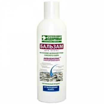 Бальзам на основе грязи Сакского озера от выпадения волос Формула здоровья купить
