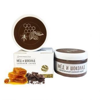 Скраб для тела мед и шоколад 250 гр Душистый мир купить