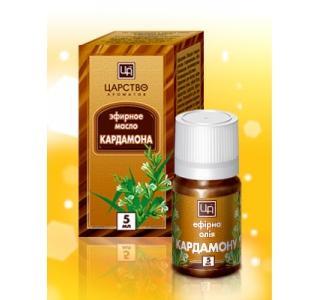 Кардамоновое эфирное масло во флаконе 5мл. Царство ароматов купит