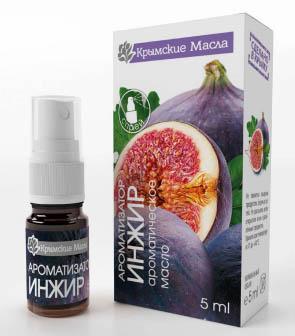 ароматическое масло инжир спрей Крымские масла купить