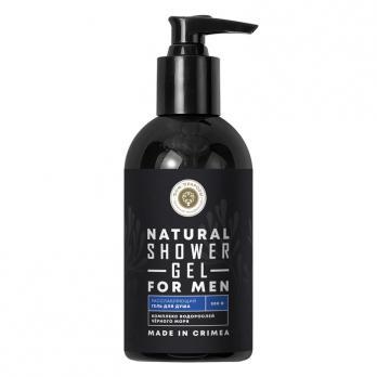 Гель для душа Расслабляющий для мужчин с комплексом водорослей Черного моря Дом природы косметика купить