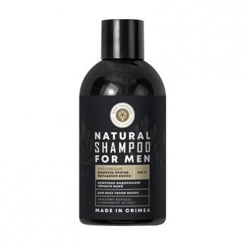 Натуральный шампунь Укрепляющий для мужчин с комплексом водорослей Черного моря Дом природы косметика купить