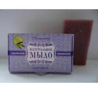 Мыло натуральное Шалфей 50 гр Крымская линия купить