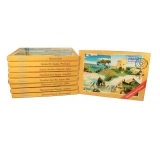 Сувенирный набор мыла Почтовый Западный Крыма 200г 4шт по 50гр Дом природы купить