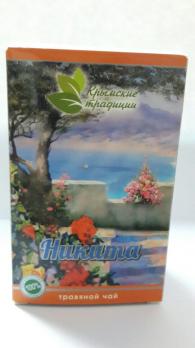 Травяной чай НИКИТА 40г. Крымские традиции