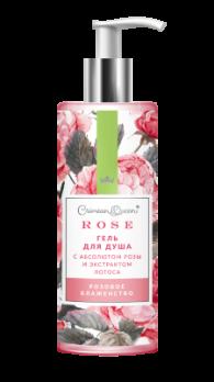 Гель для душа с абсолютом розы и экстрактом лотоса Розовое блаженство Дом природы