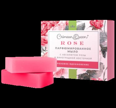 Набор Парфюмированного мыла Розовое вдохновение Дом природы