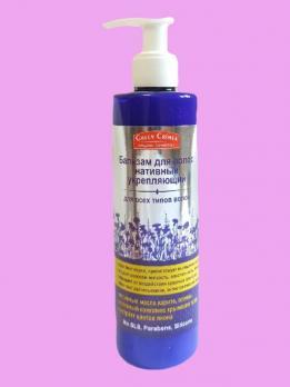 Бальзам для волос нативный укрепляющий для всех типов волос Green Crimea купить