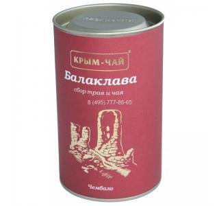 Крым чай БАЛАКЛАВА успокаивающий с зеленым чаем туба 80г купить