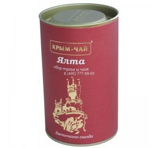 Крым чай ЯЛТА сердечно-сосудистый с зеленым чаем туба 80г купить