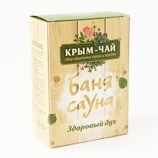 Чай для сауны и бани ЗДОРОВЫЙ ДУХ Крым чай купить