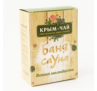 Чай для сауны и бани ВАННА МОЛОДОСТИ Крым чай купить
