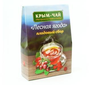 Крым чай плодовый сбор ЛЕСНАЯ ЯГОДА 130гр купить