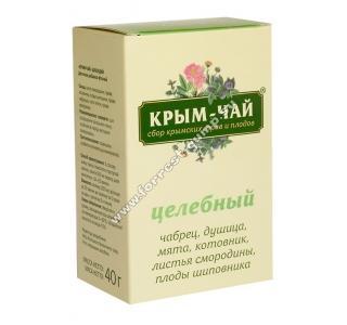 Крым чай ЦЕЛЕБНЫЙ общеукрепляющий 40г купить