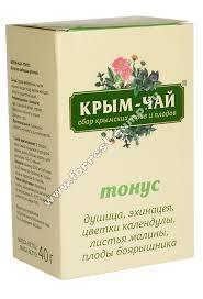 Крым чай ТОНУС тонизирующий 40г купить