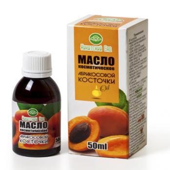 Масло растительное косметическое Абрикосовой косточки 50мл. Никитский ботанический сад купить