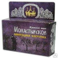 Крымское мыло Монастырское Виноградная косточка 80г Формула здоровья купить