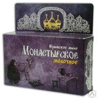 Крымское мыло Монастырское Молочное 80гр Формула здоровья купить