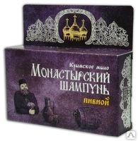 Крымский натуральный твердый шампунь - Пивной Монастырский 80г. Формула здоровья купить