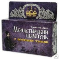 Крымский натуральный твердый шампунь - С целебными травами 80г. Формула здоровья купить