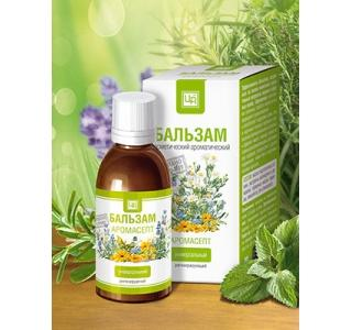 Аромасепт аромабальзам антисептический регенерирующий 50мл Царство ароматов купить